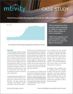Print Procurement Case Study